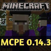 Скачать Minecraft PE 0.14.3