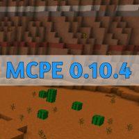 Скачать Minecraft PE 0.10.4