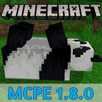 Скачать Minecraft PE 1.8.0