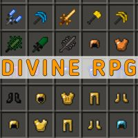 Скачать мод Divine RPG на Minecraft PE