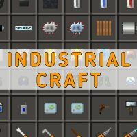 Скачать мод IndustrialCraft на Minecraft PE