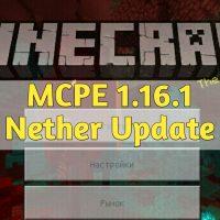 Скачать Minecraft PE 1.16.1