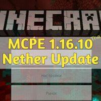 Скачать Minecraft PE 1.16.10