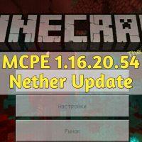 Скачать Minecraft PE 1.16.20.54