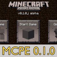 Скачать Minecraft PE 0.1.0