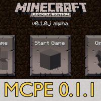 Скачать Minecraft PE 0.1.1