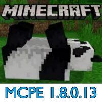 Скачать Minecraft PE 1.8.0.13
