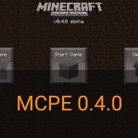 Скачать Minecraft PE 0.4.0