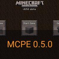 Скачать Minecraft PE 0.5.0
