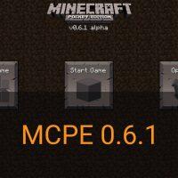 Скачать Minecraft PE 0.6.1