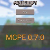 Скачать Minecraft PE 0.7.0