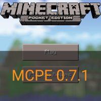 Скачать Minecraft PE 0.7.1
